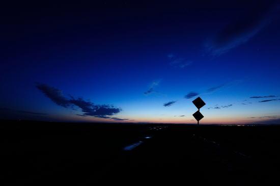 標識~朝の薄明