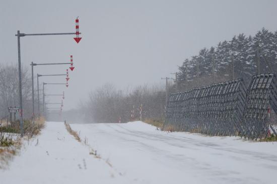 道道444号線雪の日