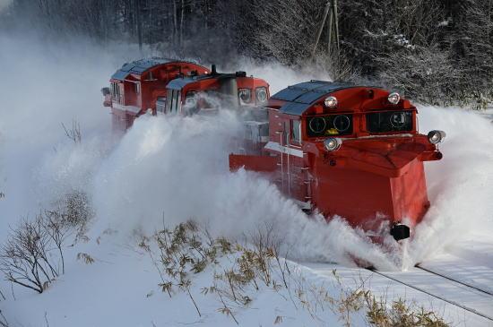 宗谷線ラッセル車(雪レ)