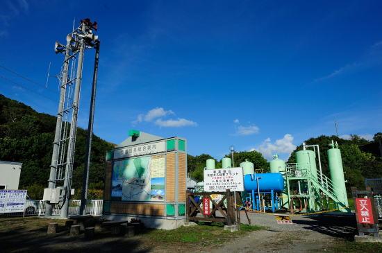 天然ガス採集プラント