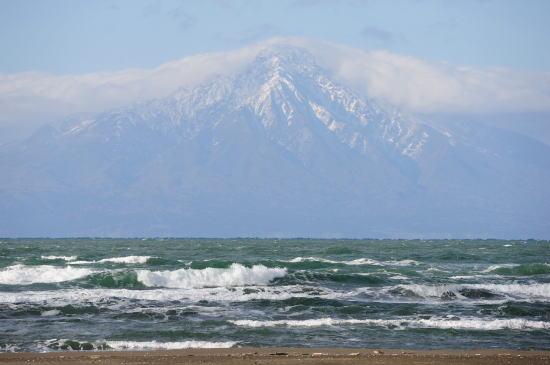 初冬の利尻富士