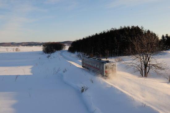 稚内行き普通列車