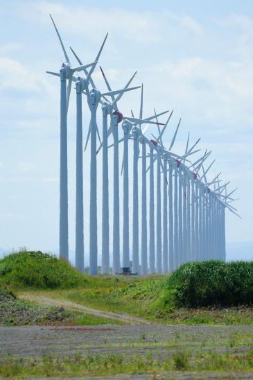 オトンルイの発電風車