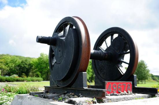 9600型蒸気機関車の動輪