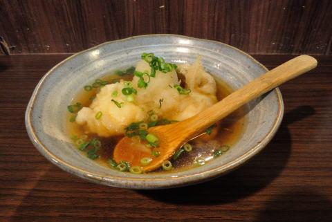 温泉たまごの天ぷら