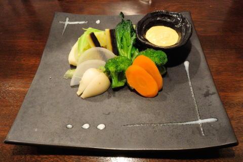 相模原野菜の旬の温野菜