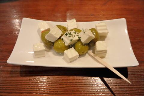 オリーブ&クリームチーズ