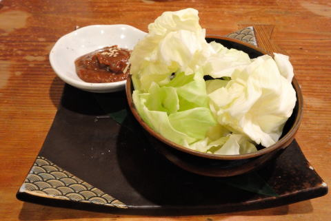 味噌キャベツ (ハーフ)