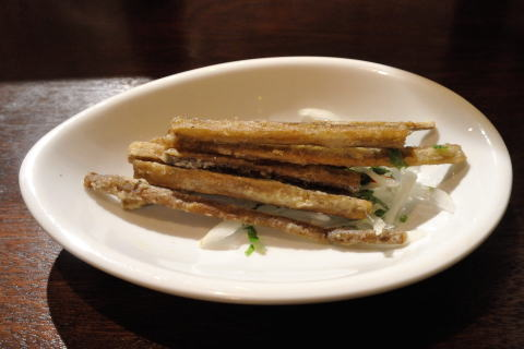 ごぼうの天ぷら