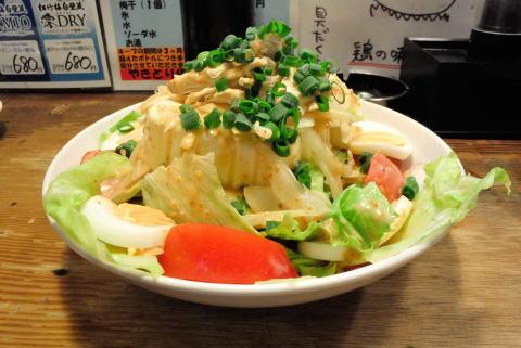 中華豆腐サラダ