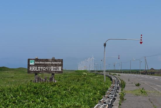 発電風車を望む
