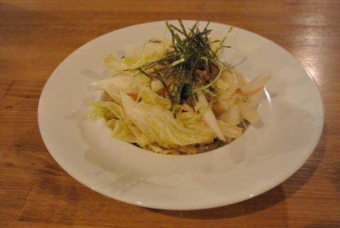 生白菜のしゃきしゃきサラダ