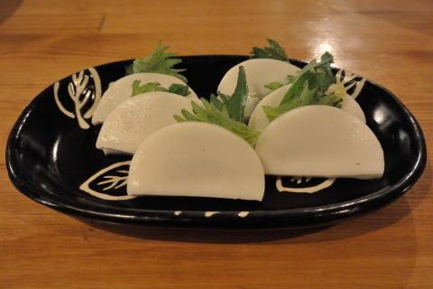 板わさ黄柚子style