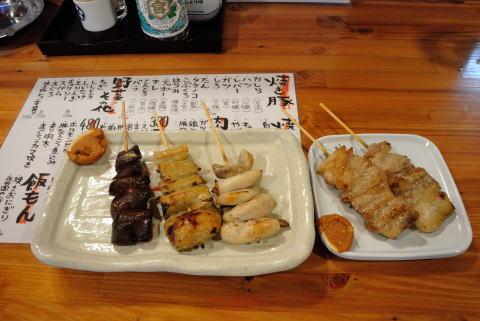 焼き豚 チレ、テッポウ、コブクロ、バラ、トントロ