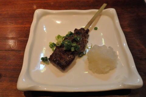 牛ハラミ串焼
