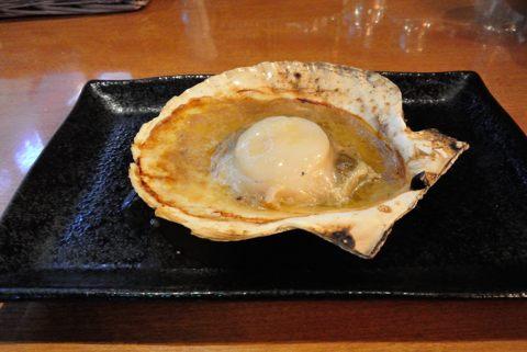 殻付き!帆立のバター醤油焼き