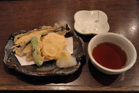 天ぷら(ナス、ししとう、玉ねぎ)