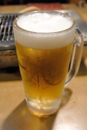 生ビール(中)