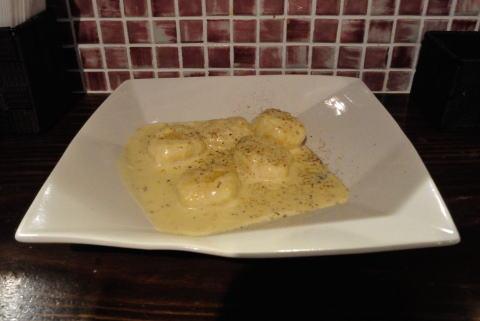 ニョッキ チーズ クリーム