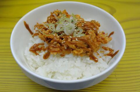 チャーシューキムチ丼
