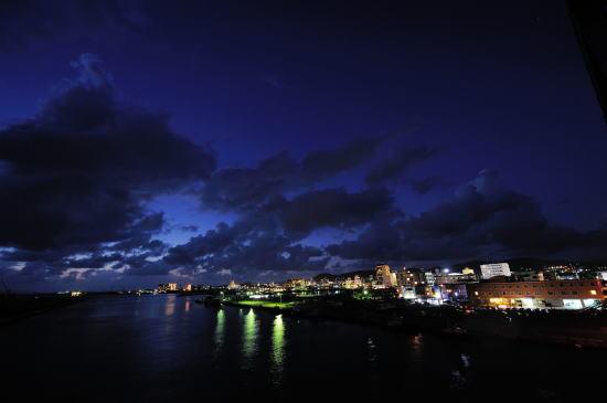 サザンゲートブリッジからの夕景