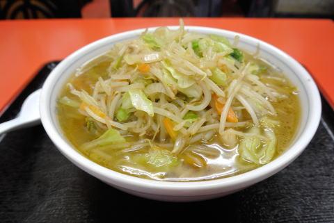 野菜ラーメン (醤油)