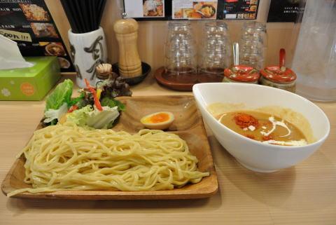 野菜チーズフォンデュつけ麺(空そら)