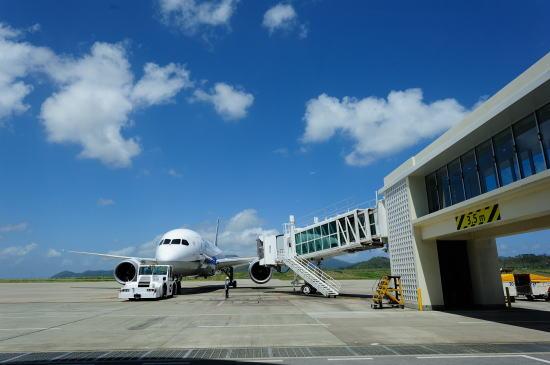 南ぬ島 石垣空港にて
