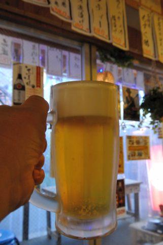 一人で乾杯!