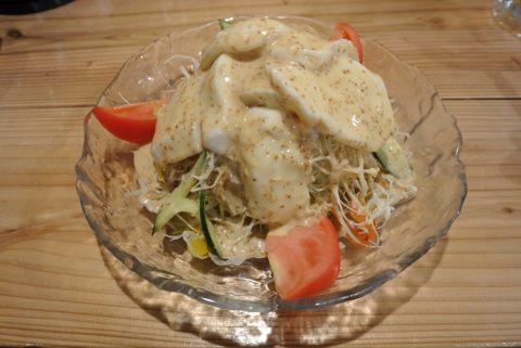 ジーマミー豆腐サラダ