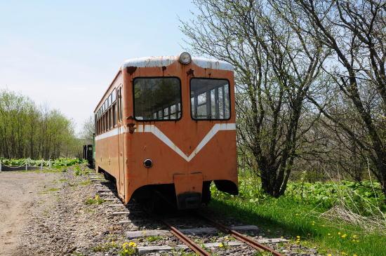 旧別海村営軌道の保存車両