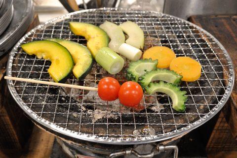 石垣島野菜の焼き野菜盛り合わせ
