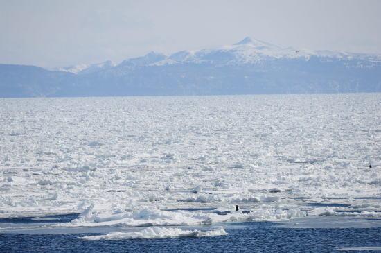流氷の彼方の北方領土国後島