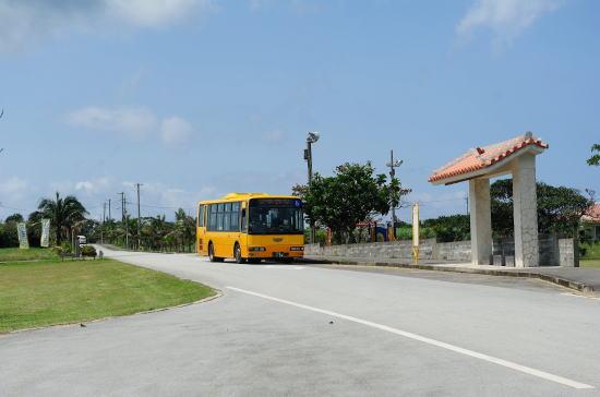 東運輸 「明石」バス停と平野線