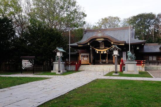 金刀比羅神社・秋