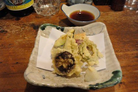 島野菜の天ぷら