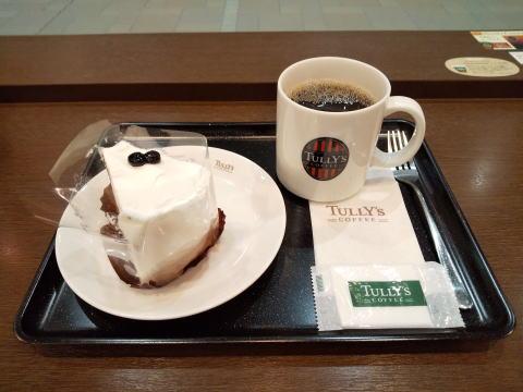 本日のコーヒー Tallサイズ 、シフォンケーキ ほうじ茶