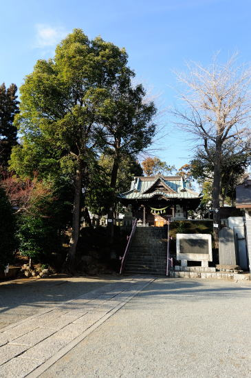 鹿島神社境内
