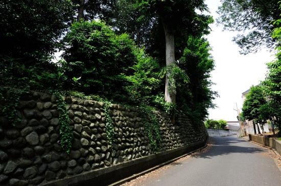 石積みの坂