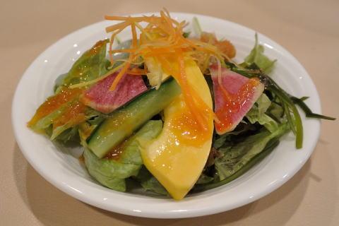季節の彩サラダ