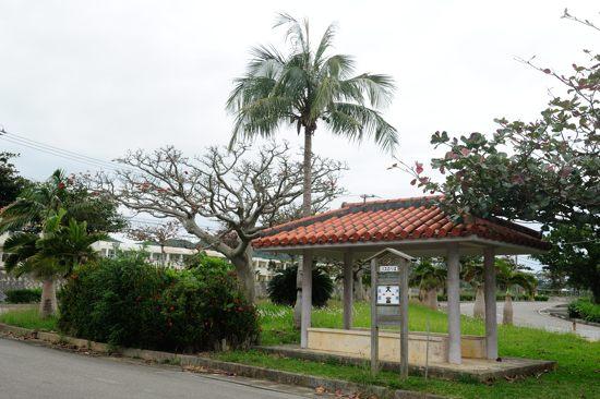 西表島交通「大富」バス停