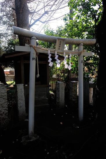 北向庚神社 (長嶋神社境内)