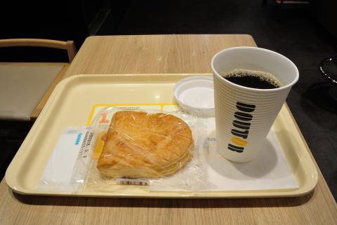 ブレンドコーヒーL 、アップルパイ