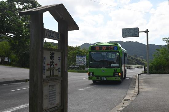 西表島交通 浦内川バス停