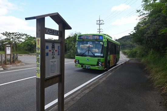 西表島交通「大見謝ロードパーク」バス停
