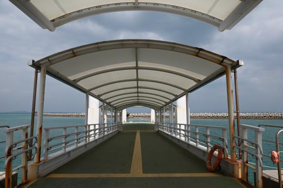 黒島港桟橋