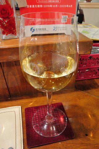 グラスワイン 白