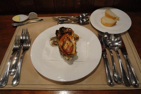 季節のオードブル 牡蠣です。