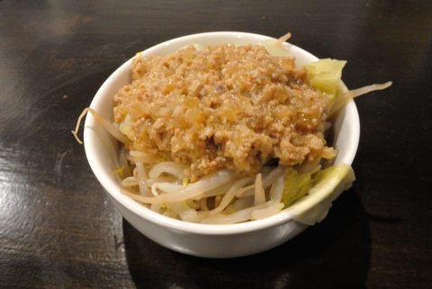 自家製肉味噌野菜