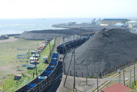 石炭の取り下ろしが終りました